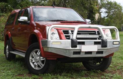 ISUZU DMAX with canopy, 4x4, 2012, 130k's, RWC, serviced reg, tyres gc, bullbar, towbar, elec...