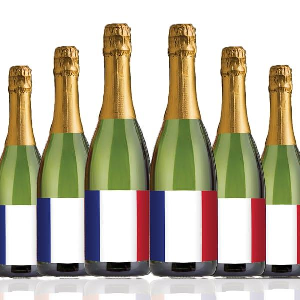 If you like your bubbles, get ready to celebrate with today's mystery case of French Brut sparkling...
