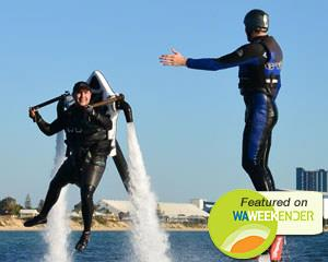15 minute Jet Pack AND Flyboard experience in Rockingham, Perth! You will learn how to safely operate...