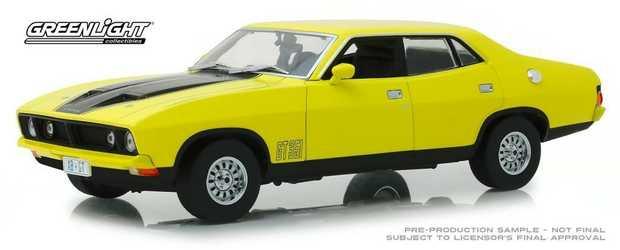 1:18 Yellow 1974 Ford Falcon Xbgt 4 Door Sedan