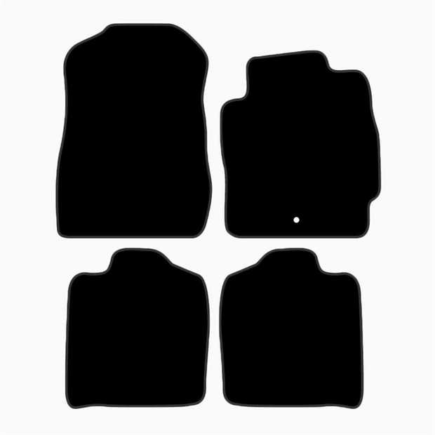 Nothing in your Mazda Mazda 2 is one size fits all, especially your carpet floor mats. The contour of...