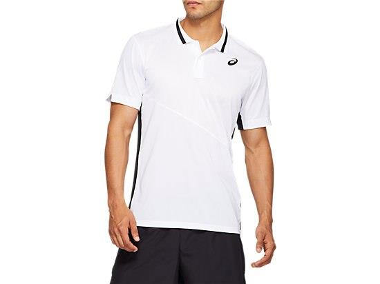 Prepare for your next match in the CLUB POLO-SHIRT men's tennis top by ASICS. This shirt features a...
