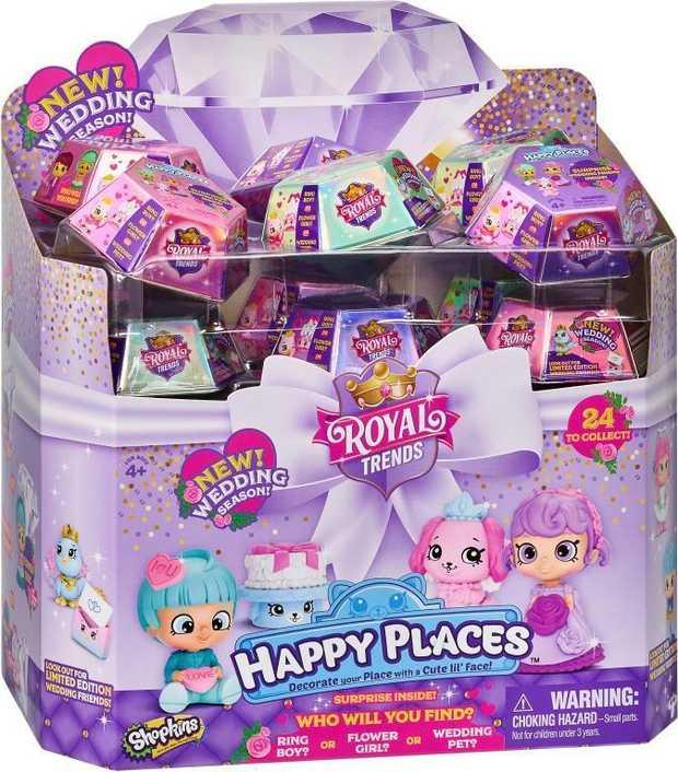 Happy Places Shopkins S8 Surprise Pack Assorted