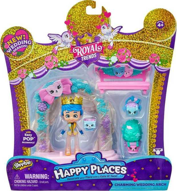 Happy Places Shopkins S8 Happy Scene Pack