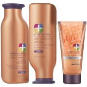 Treat and prep your hair from start to finish with the Curl Complete Collection which include...