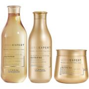 Nutrifier Shampoo:  Constructed with glycerol and coconut oil, the Serie Expert Nutrifier shampoo...