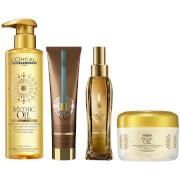 Original oil: Treat your hair to this luxurious multi-purpose Mythic Oil Original Oil, now with added...