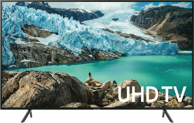 Discover 4K resolution on this 75-inch Samsung 4K Ultra High Definition Smart LED TV UA75RU7100WXXY.