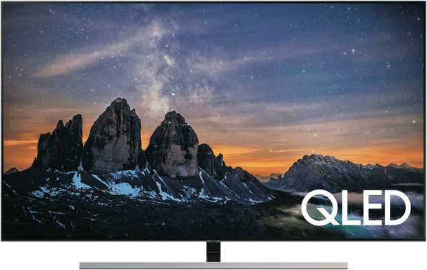 Witness the beauty of 4K with the 75-inch Samsung QLED 4K smart television QA75Q80RAWXXY. No longer...