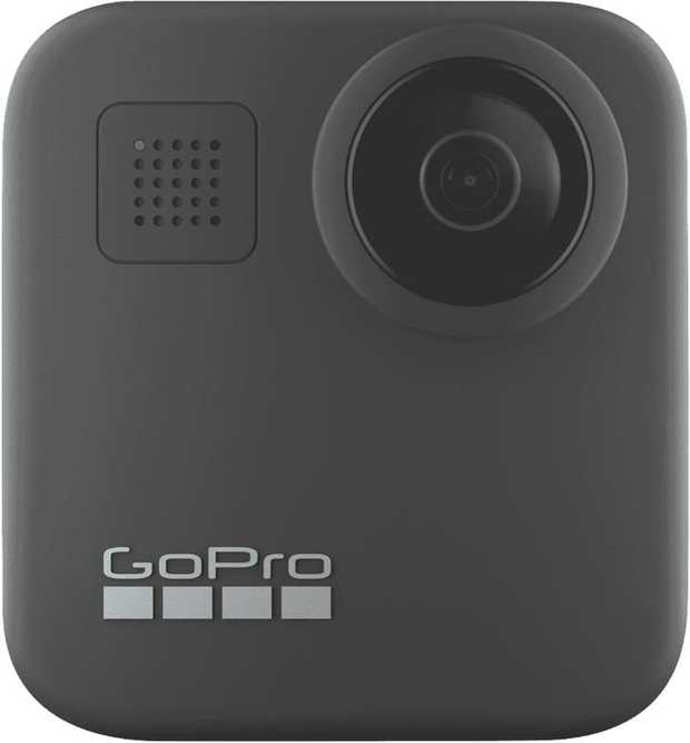 With this GoPro Max you can shoot single-lens footage with unbreakable stabilisation and capture...