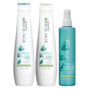 The Biolage VolumeBloom Shampoo is a clarifying, volume boosting shampoo perfect for fine, limp hair in...