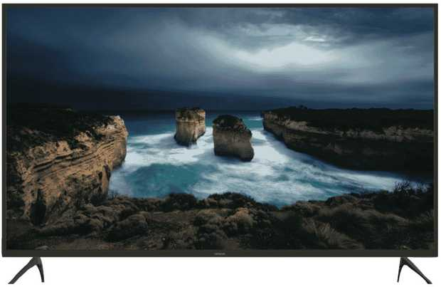 This Hitachi TV has a 75-inch screen, so you can stare intently without straining your eyes. It has an...