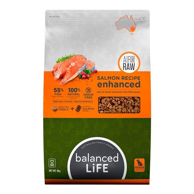 balanced life enhanced salmon dry dog food  9kg | Balanced Life dog food | pet supplies| Product...