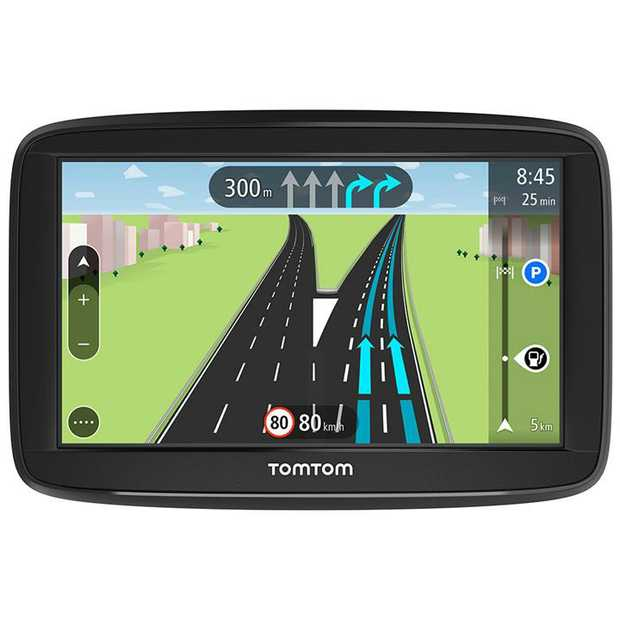 "5"" (13cm) Resistive Touch Screen Advanced Lane Guidance Lifetime Maps (Australia & New Zealand) 8GB..."