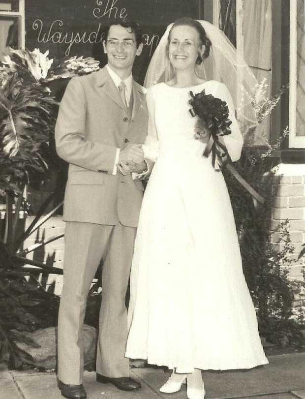 Congratulations to Paul and Eija White celebrating their 50th wedding anniversary, from your children...