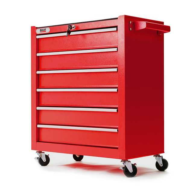 The New Bullet 6 Drawer Tool Box Cabinet is the ideal storage solution for all your tools, parts and...