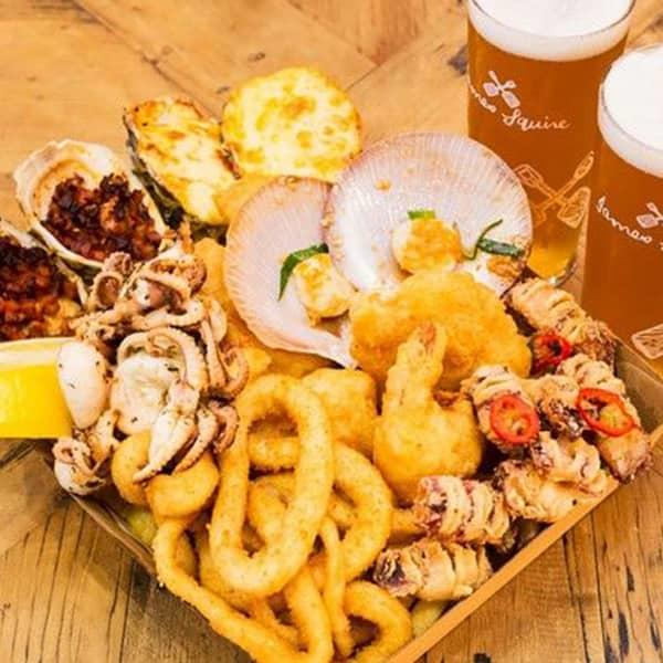 For the freshest oceanic fare in town, head to Salty Squid at Sydney Fish Market for your choice of...