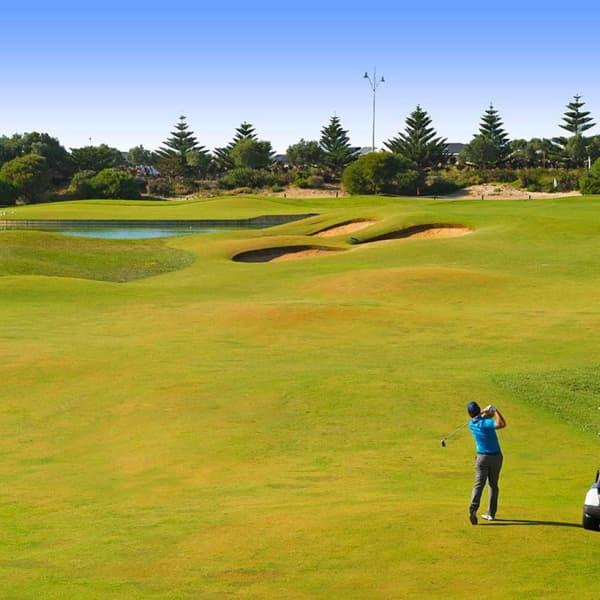 Enjoy a day on the green at the highly-acclaimed Secret Harbour Golf Links! Bring your best golfing...