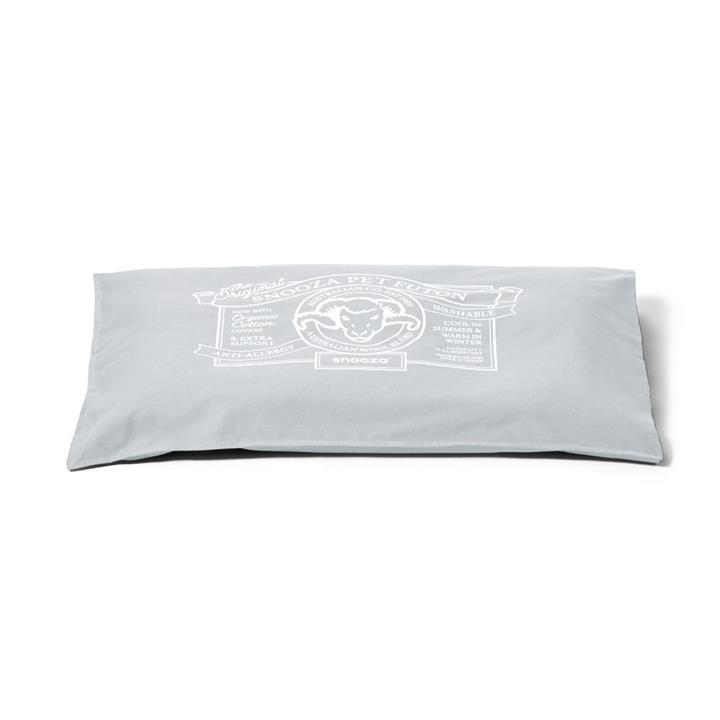 Snooza Dog Bed Futon Organic Ash Mini