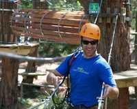 The Mornington Peninsulas Enchanted Adventure Garden is home to an incredible Tree top climbing course...