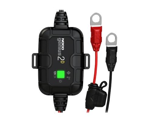 NOCO GENIUS 2D: 2 Amp Direct-Mount Battery Charger and Maintainer The GENIUS2D is a 2-amp direct-mount...