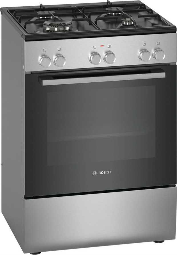 66L usable oven capacity 4 burners 13.6 Mj/h wok burner 3D Hotair EcoClean Direct 8 heating modes...