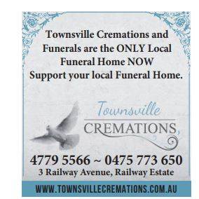 Townsville Cremations and Funerals are the ONLY Local Funeral Home NOW