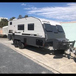2016 Lotus Caravan FreelanderImmaculate conditionLength  6.2m ATM3495 2 x single beds Reverse...