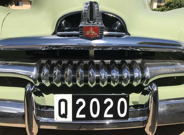 HISTORIC Q 2020PLATE   Queensland Number Plate of the Year.   This Historic Plate was first...