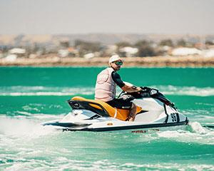 The Value packed Day pass! In this package you will receive a 15min Jet Ski Hire, Half hour towed on...