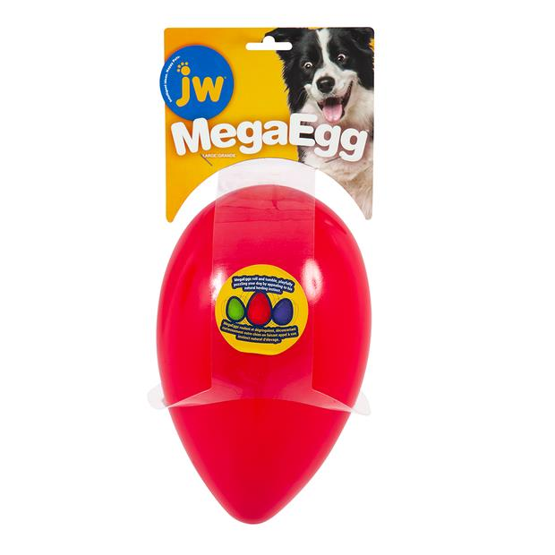jw pet mega eggs red dog toy  large | JW Pet dog toy&accessories; | pet supplies| Product Information:...