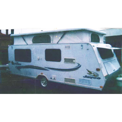 2005 Jayco Pop-top 17'   good condition, twin beds, Air cond TV, gas/ electric stove, 2...