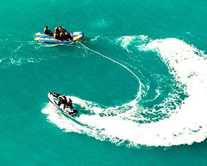 The Ultimate Adrenaline Combo - Jet Boat & Banana Boat Thrill Ride in Airlie Beach, The Whitsundays.