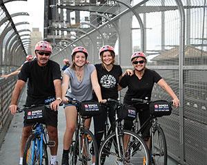 Harbour Bridge Bike Tour with Lunch