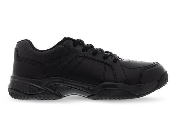 The Alpha Wilder Grade School trainer is a regular fit verstatile all-round lace up cross trainer.