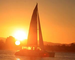 Set sail for two hours of delight on the calm waters of the Gold Coast's Broadwater. Enjoy a drink as...
