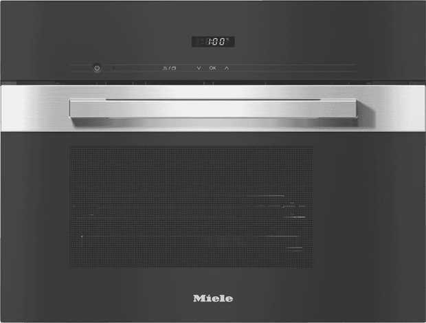 Steam fresh fish, meat, and vegetables; melt chocolate; or prove dough with the Miele DG 2840 PureLine...