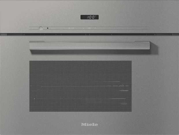 Steam fresh fish, meat, and vegetables; melt chocolate; or prove dough with the Miele DG 2840 VitroLine...