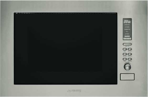 This Smeg oven is a microwave oven and has a stainless steel finish and is electric powered. Its 25...
