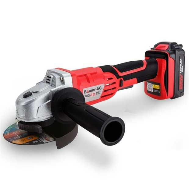 Baumr-AG continues to deliver innovative power tools with the NEW Alpha 200 AG20 Lithium Angle Grinder.