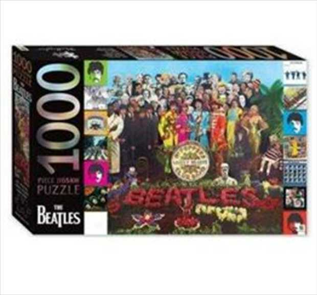 Spend A Day in the Life with the fab four with this Sgt. Pepper's Lonely Hearts Club Band album...