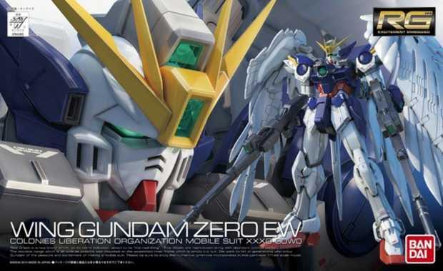 Gundam 1:144 RX Wing Gundam Zero