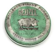 REUZEL GREASE MEDIUM HOLD 35G  Reuzel Grease is a versatile wax and oil based product that allows you...