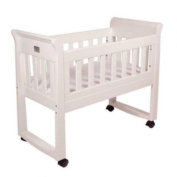 Sandton Sleigh Cradle - White