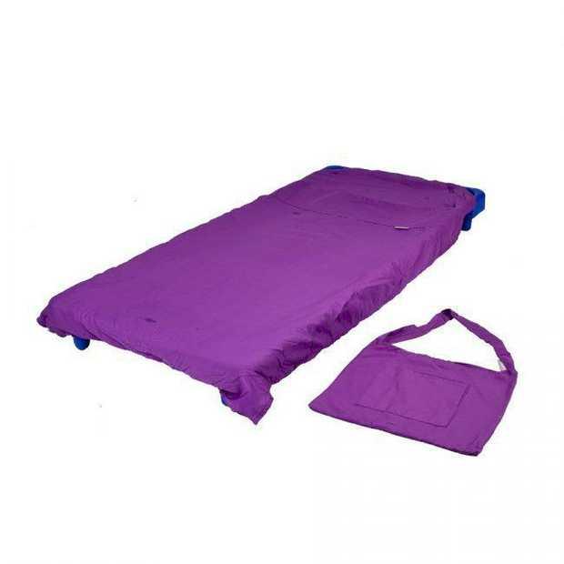 Stacking Bed Sheet Purple