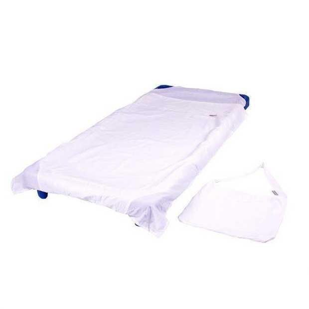Stacking Bed Sheet White