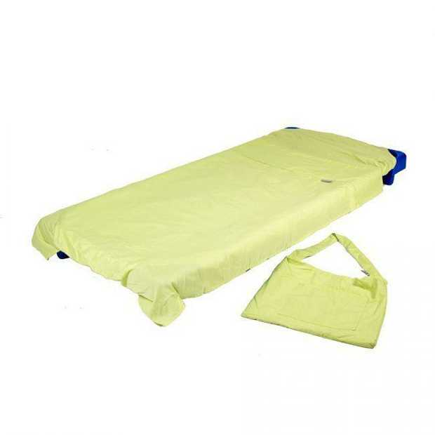 Stacking Bed Sheet Lime Green