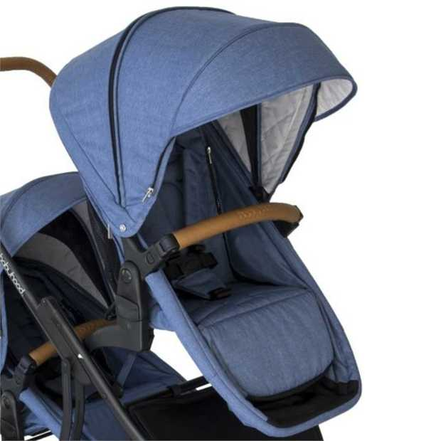 2018 Babyhood Doppio Seat Blue (Seat Only)