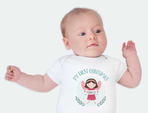 Baby's First Christmas Outfit | My First Christmas Outfit Find the cutest onesies and t-shirts that...