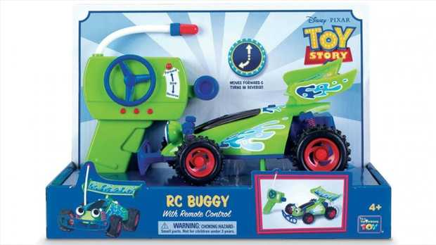 Fun and interactive, the Toy Story 4 RC Buggy is a great companion for your Toy Story-loving...